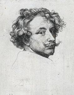Anthony van Dijk, Zelfportret (1630)