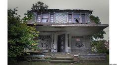 Fotógrafo capta ar sombrio de 'casas mal assombradas' nos EUA
