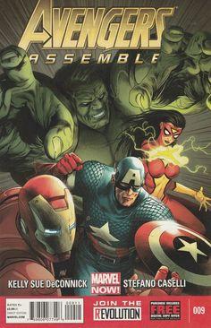 Avengers Assemble # 9 Marvel Comics