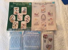 Fond Memories cross stitch Switchplate books + 3 Switchplates. Book 5 & 18  #FondMemories