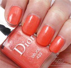 Dior Summer (Diablotine)  - Loving the orangey coral!