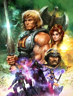 He-Man and the Masters of the Universe by Dave Wilkins