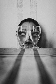 Photographie artistique en noir et blanc