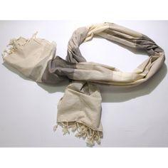 Brown Safir Peshtemals by Casa Bella Textiles. Love this design!