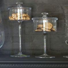 Glazen stolpen