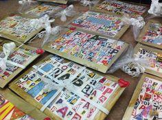 Collage vaderdag papa tijdschriften