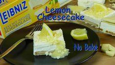 Zitronen Käsekuchen ohne Backen - Rezept von Lila Kuchen Toblerone, Lemon Cheesecake, Pie, Desserts, Food, Purple Cakes, Molten Chocolate, Food Food, Backen