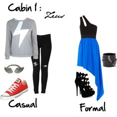 """Cabin 1: Zeus"" by idmiliris on Polyvore"