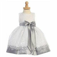 #Lito                     #ApparelDresses           #Lito #Silver #Embroider #Taffeta #Trim #Easter #Dress #Toddler #Girls        Lito Silver Embroider Taffeta Trim Easter Dress Toddler Girls 4T                                        http://www.seapai.com/product.aspx?PID=7436003