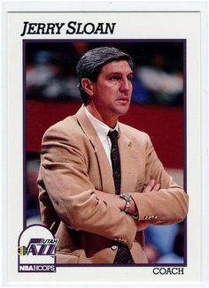 Basketball Trading Cards 1991 NBA Hoops Jerry Sloan Coach