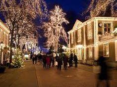 Christmas Market, Liseberg.  Gothenburg, Sweden. Dec 2011
