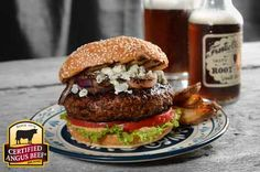 Black and Blue Burger: Taste the difference. There's Angus. Then there's the Certified Angus Beef ® brand.
