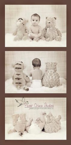 8 months old baby photo shoot idea!