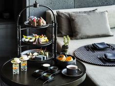 Afternoon tea at THE LOUNGE BY AMAN TOKYO.