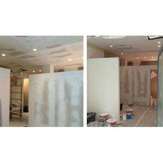 Ultimati cartongessi controsoffitto e impianto illumitecnico  #workinprogress #design  #interiordesign #piacenza - http://ift.tt/1FeLg8p