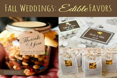 Fall weddings are beautiful and fun, and fall is the season for some of the most delicious food in existence. Why not celebrate both points and provide delicious edible wedding favors? There are plenty of different options for creating edible wedding favors for fall, and the following ideas will serve as inspiration for your …