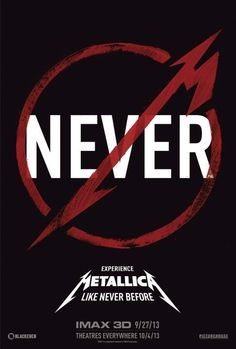 "Mira el Trailer de ""Metallica Through The Never"", la película de METALLICA en 3D"