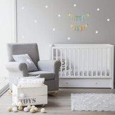 Star blue vinilo Baby Playroom, Baby Nursery Decor, Baby Bedroom, Baby Wall, Waiting For Baby, White Nursery, Baby Center, Kids Decor, Home Decor