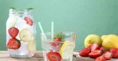 Acque aromatizzate: 10 ricette per fare il pieno di vitamine e minerali