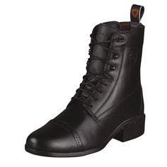 Ariat Ladies Heritage III Lace Paddock Boots Black