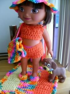 Free Original Patterns - Crochetville Life on The Beach - Part 2 - top, bottoms, Hoodie