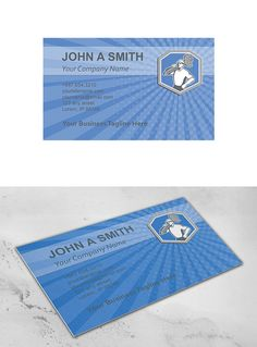 Business Card Template Locksmith Car ~ Business Card Templates on Creative Market