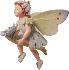 The Chickory Flower Fairy, the charm of Cicely Mary Barker's Flower Fairies has been brought to life in these precious figurines.