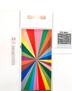 A look inside The Color Factory,  San Francisco CA