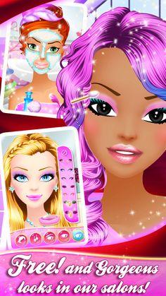 Popular Girls Makeover Salon– Capture d'écran