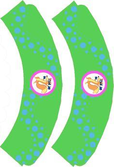 Dora The Explorer ~ Swiper Dora The Explorer, Cut Out Top, Cupcake Wrappers, A4 Paper, Cup Cakes, Vinyl Designs, Party Printables, Scissors, Parties