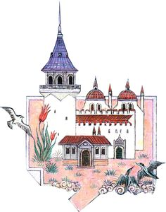 Nusret Çolpan Kitsch, Rajasthani Painting, Color Poem, Turkish Art, Leather Art, Ottoman Empire, Painting Lessons, Tile Art, Islamic Art