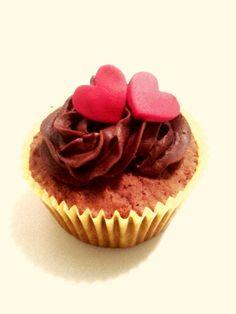 Cupcake coração
