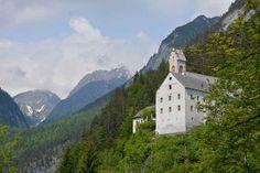 Felsenkloster St. Georgenberg - auf der #Wolfsklamm Wanderung