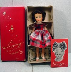 MIB, Cosmopolitan Miss Ginger Fashion Doll, 1957.