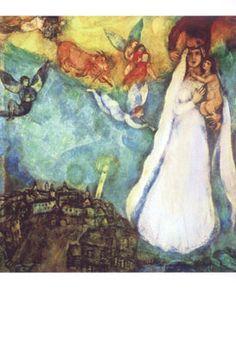 Marc Chagall. Madonna. Meer kaarten op www.postersquare.com