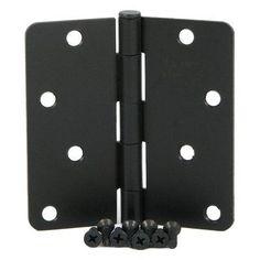 Stone Mill Hardware 4 in. Hinge - 2 Pack - SMH4058-OB