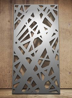 Laser cut screen