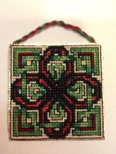 Counted cross stitch pattern is available from Frony Ritter Designs.