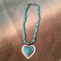 Beautiful heart necklace Beautiful heart necklace, with toggle clasp Jewelry Necklaces