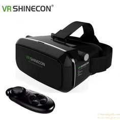 VR BOX Headset  Virtual Reality 3D Glasses Helmet For iPhone  Samsung Sony phones gift
