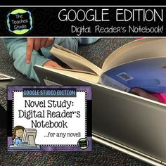 A paperless, digital response to reading resource that can be used over and over again? A reader's notebook that can be used with ANY novel? Reading Resources, Teaching Reading, Teaching Ideas, Classroom Jobs, Google Classroom, Book Club Books, The Book, Book Clubs, Readers Notebook