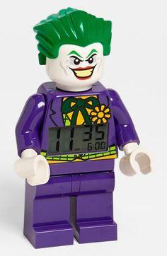 LEGO® 'Joker' Alarm Clock | Nordstrom