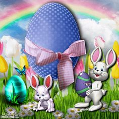Have a hoppin poppin Easter ! Hugzzzzzz oooooo And smilezzzzzzz ; Happy Easter Gif, Happy Easter Quotes, Happy Easter Pictures Inspiration, Christian Calendar, Holiday Gif, April Easter, Easter Wallpaper, Fete Halloween, Easter Parade