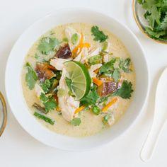 thai chicken soup. dinner ~ recipe ~ asian ~ ginger ~ tasty.