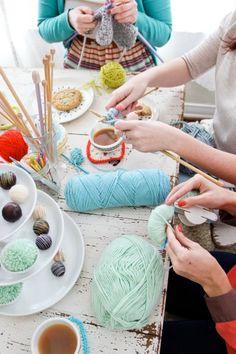 Host a Tea Knitting party