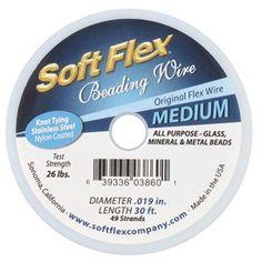 "Soft Flex .019"" Medium 49-Strand Bead Wire   Shop Hobby Lobby"