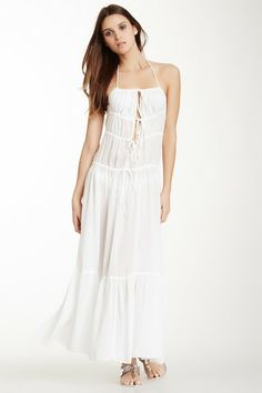 Spaghetti Maxi Dress by SHAY TODD on @HauteLook