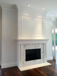 Unbelievable white painted fireplace mantels only in interioropedia design – Farmhouse Fireplace Mantels Painted Fireplace Mantels, Family Room Fireplace, Paint Fireplace, Brick Fireplace Makeover, Farmhouse Fireplace, Fireplace Remodel, Modern Fireplace, Fireplace Surrounds, Fireplace Design