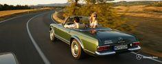Mercedes-Benz SL Pagode W113 in der Toskana | Nostalgic Oldtimerreisen