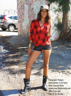 Rocking Girly Grunge